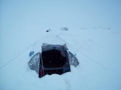 Tenting in Mongolia